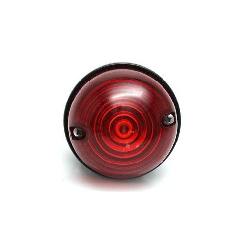 Lanterna Redonda Land Rover Alta Rubi Modelo 90/110/130 Até 2000 (Unitário)