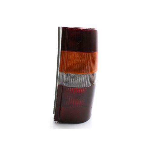 Lanterna Traseira Ford Courier 96 97 98 99 00 01 02 03 04 05 06 07 08 09 10 Acrílico Tricolor (Lado Direito - Passageiro)