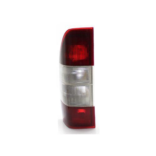 Lanterna Traseira Mercedes-Benz Sprinter 2003 04 05 06 07 08 2009 Acrílico Bicolor Cdi (Lado Esquerdo - Motorista)