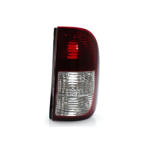 Lanterna Traseira Volkswagen Saveiro G2 G3 98 99 00 01 02 03 04 2005 Bicolor Cristal (Lado Direito - Passageiro)