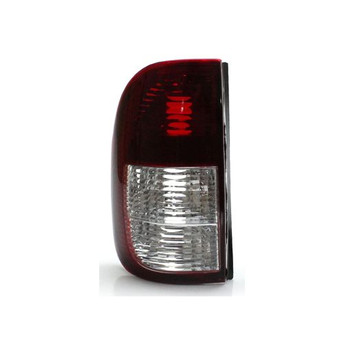 Lanterna Traseira Volkswagen Saveiro G2 G3 98 99 00 01 02 03 04 2005 Bicolor Cristal (Lado Esquerdo - Motorista)