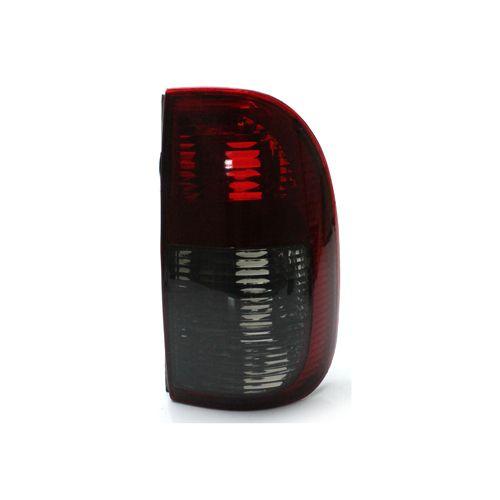 Lanterna Traseira Volkswagen Saveiro G2 G3 98 99 00 01 02 03 04 2005 Bicolor Fumê (Lado Direito - Passageiro)
