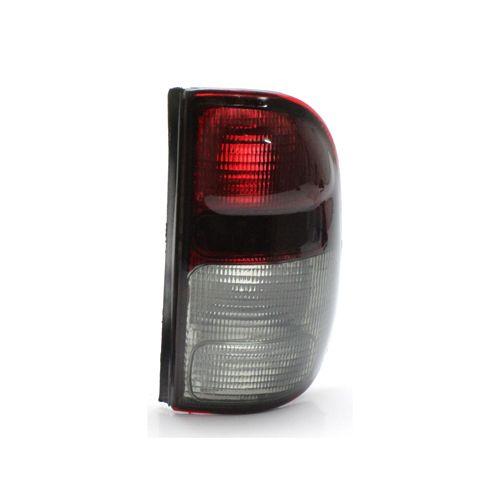 Lanterna Traseira Volkswagen Saveiro G2 97 98 99 00 01 02 Bicolor Fumê (Lado Direito - Passageiro)
