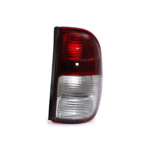 Lanterna Traseira Volkswagen Saveiro G2 97 98 99 00 01 02 Bicolor Cristal (Lado Direito - Passageiro)