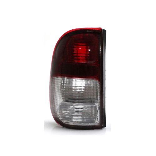 Lanterna Traseira Volkswagen Saveiro G2 97 98 99 00 01 02 Bicolor Cristal (Lado Esquerdo - Motorista)