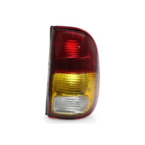 Lanterna Traseira Volkswagen Saveiro G2 97 98 99 00 01 02 Tricolor (Lado Direito - Passageiro)