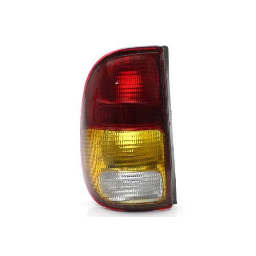 Lanterna Traseira Volkswagen Saveiro G2 97 98 99 00 01 02 Tricolor (Lado Esquerdo - Motorista)
