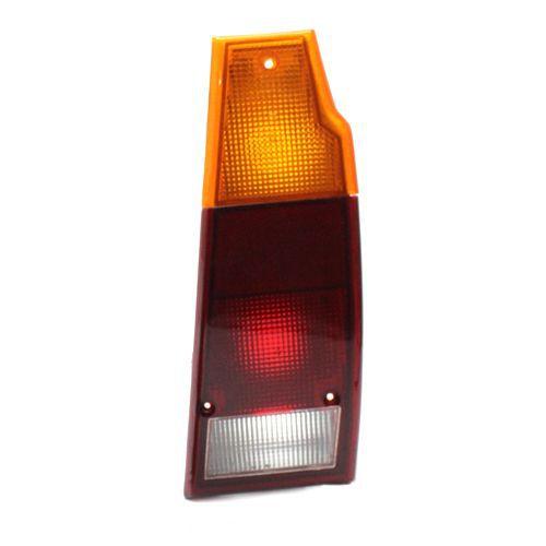 Lanterna Traseira Volkswagen Parati Saveiro 85 86 87 88 89 90 91 92 93 94 95 96 97 Acrílico Tricolor (Lado Direito - Passageiro)