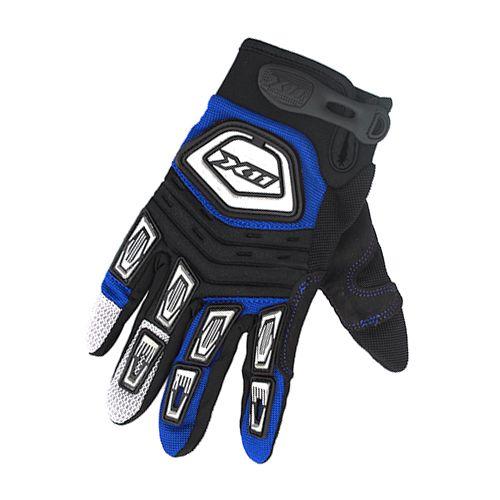 Luva X11 Nitro X Tecido Preto Azul (G)