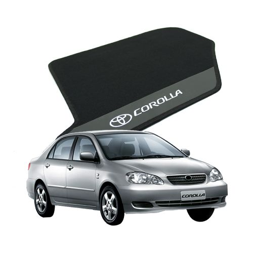 Tapete Carpete Bordado Toyota Corolla 2003 Até 2007 Com Logo