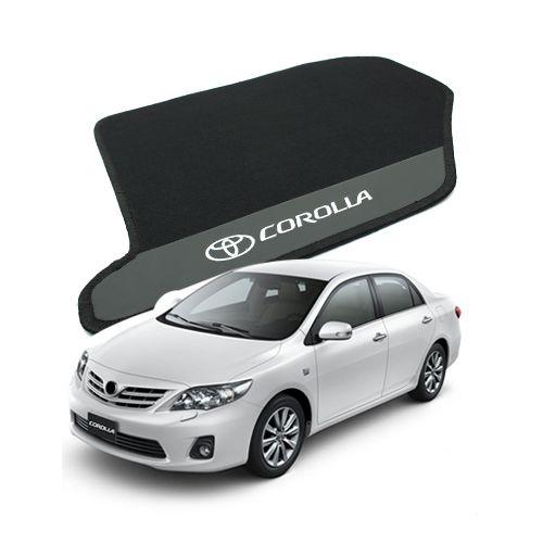 Tapete Carpete Bordado Toyota Corolla 2008 Até 2014 Com Logo