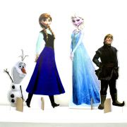 Kit Cenário Display De Chão Frozen com 4 Peças - 3mm
