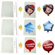 Balão de Pelicula de Aluminio Composto em Branco para Impressão Tamanho A4