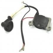 Bobina Elétrica (Módulo de Ignição) para Roçadeira a Gasolina de 43cc e 52cc (4 em 1) BRUTATEC