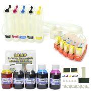 Bulk Ink com Cartuchos Recarregáveis com Sistema Anti-Refluxo