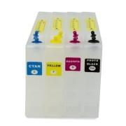 Bulk Ink de Cartuchões para Impressoras Epson B510, B310, B500 e B300 com Chip VISUTEC