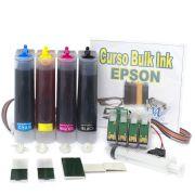 Bulk Ink para impressora Epson modelo TX320 com 400ml de Tinta Corante