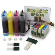 Bulk Ink TX200, TX210 e TX300F com Cartuchos e Tinta Pigmentada