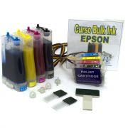 Bulk Ink TX400, TX410 com Cartuchos e 400ml Tinta Pigmentada VISUTEC