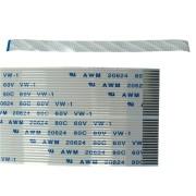 Cabo Flat de 55cm com 34 Vias para Plotter de Impressão com Cabeça DX7 VISUTEC