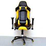 Cadeira Gamer Encosto Reclinável Altura Regulável - Pro FÁCIL TEC