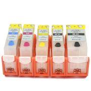 Cartuchos Recarregáveis com Chip IP4600, IP3600, IP4700, MP620, MP630 e MP980