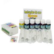 Cartuchos Recarregáveis para T60 + 180ml de Tinta Pigmentada