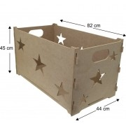 Cesta de Presente Provençal Caixa em MDF 6mm