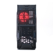 Gabinete Gamer Tampa Acrilica USB 3.0 e Cooler Fan Led CL G30B VISUTEC
