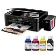 Impressora Multifuncional EcoTank L380 Bulk Ink + 400ml Tinta Sublimática