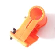 Junta da haste da roçadeira 52cc laranja de plástico