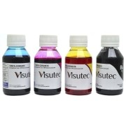 KIT 400ml de Tinta HP, Canon e Lexmark 100ml (Cada Cor) - VISUTEC