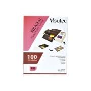 Kit com 12 Polaseal para Plastificação 80x110mm de 0,05mm Pacote com 100 unidades VISUTEC