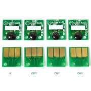 Kit com  4 Chips Reset Unid. Imagem para Konica Modelos  C220/C280/C360 VISUTEC