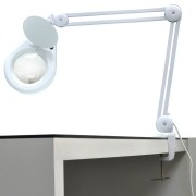 Lupa Luminária Led Faciltec 5x Bivolt Eletronica Estética Note