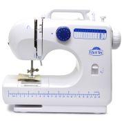 Máquina de Costura Portátil 12 pontos FÁCIL TEC com Luz e Selo do INMETRO Bivolt