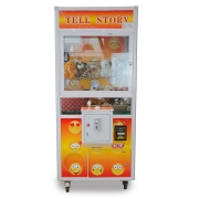 Máquina de Diversão Grua para pegar brinquedos de pelúcia modelo emoticon MVLS01NM SH