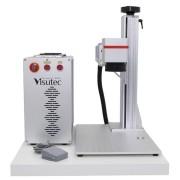 Máquina de Gravação a Laser Fiber Galvanométrica de Mesa 20W VS-FP20W-L