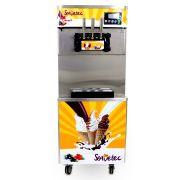 Máquina de Sorvete de Piso com 3 Bicos para Sorvete, Açaí ou Frozen Modelo 825B SORVETEC