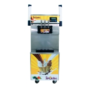 Máquina de Sorvete Expresso 825B-P com Porta Casquinhas SORVETEC