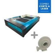 Máquina Router laser VS1390-SMART 130W + Exaustor Centrífuga
