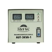 Regulador/Estabilizador de Voltagem AUT-3KVA-1 (1 Bobina) FACILTEC