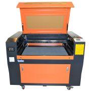 Maquina Router Laser Cnc SK9060 Corte E Gravação SEMINOVA 90x60cm 80w