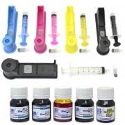Snap Fill para Cartuchos HP 564, 670 e 920 + 150ml de Tint - VISUTEC