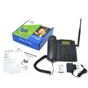 Telefone Celular Rural De Mesa Fácil Tec Dual Chip Desbloqueado Antena 5Dbi