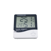 Termo-higrômetro com visor LCD HTC-1