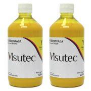 Tinta Pigmentada Amarelo  para Epson e Brother (1 Litro) VISUTEC