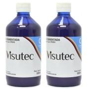 Tinta Pigmentada Ciano para Epson e Brother (1 Litro) VISUTEC