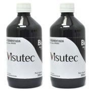 Tinta Pigmentada Preta para Epson e Brother (1 Litro) VISUTEC