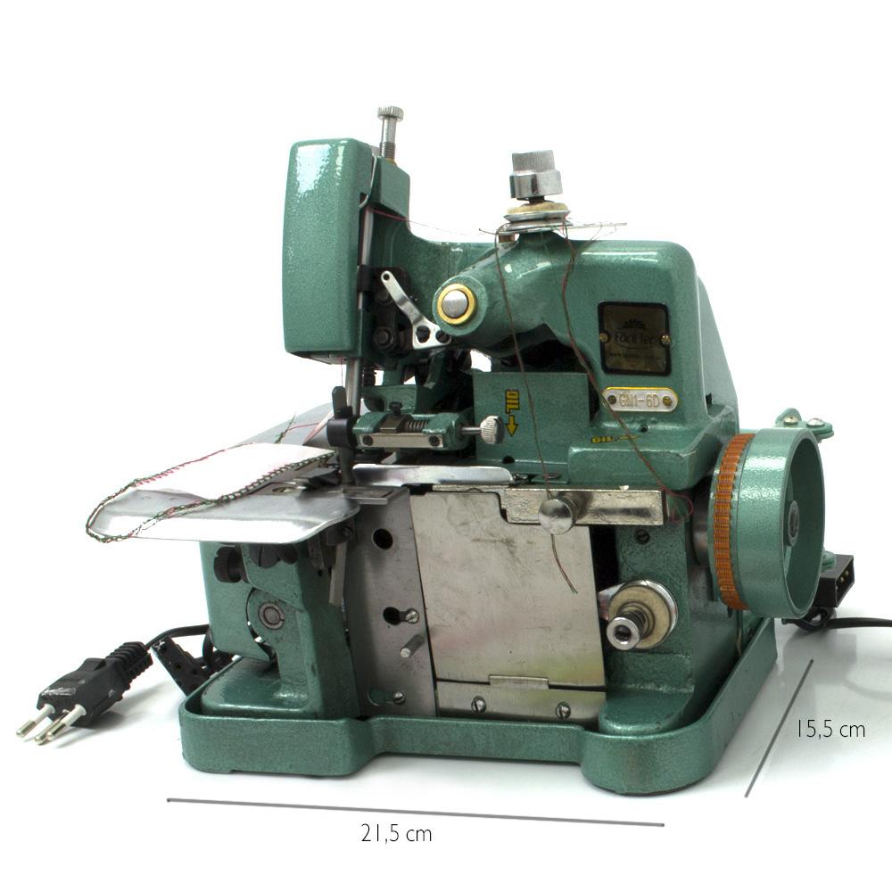 Máquina de Costura Overlock (Overloque) Semi-Industrial